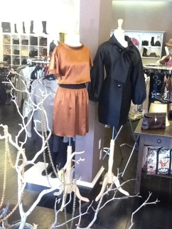 Featured Item. Sophie Theallet copper silk dress.